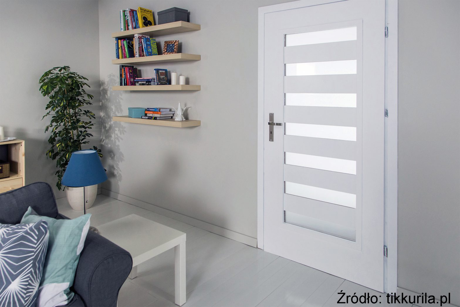 Malowanie drzwi - nowy styl w salonie